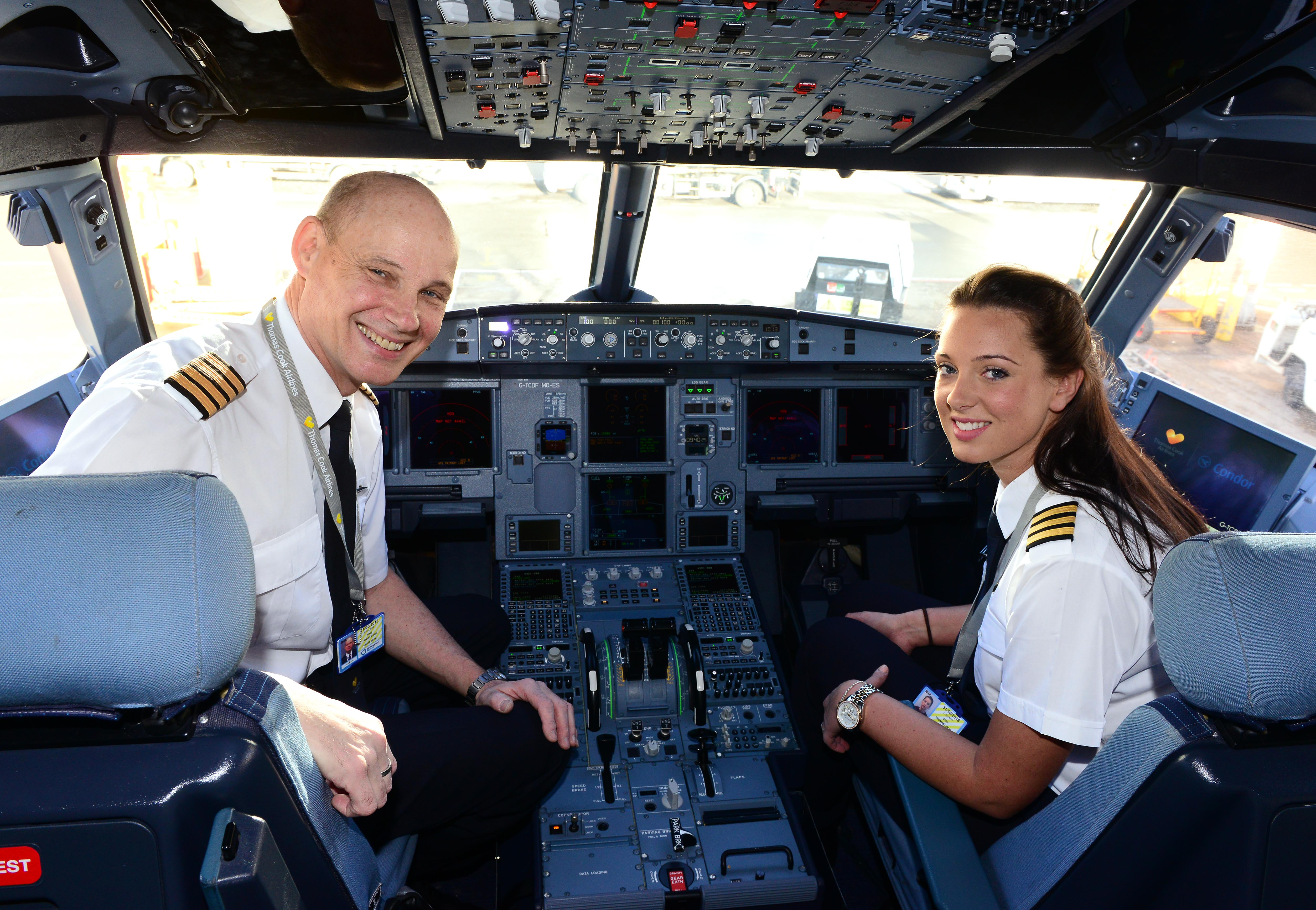 Father Daughter Pilot Team Fly Together For The First Time