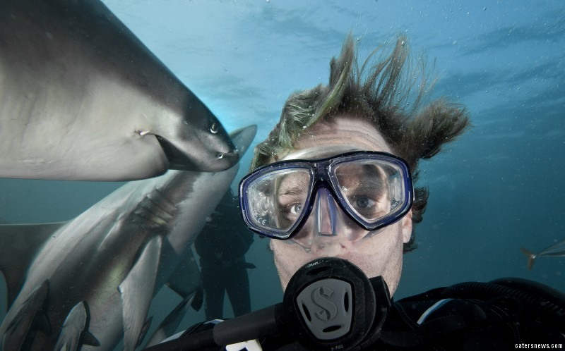 Selfie with Dangerous Shark