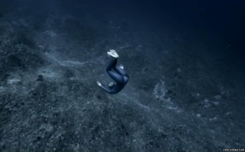 "Guillaume said: ""Free diving seems to be accessible only to aliens or extraordinary people, but it's not."""