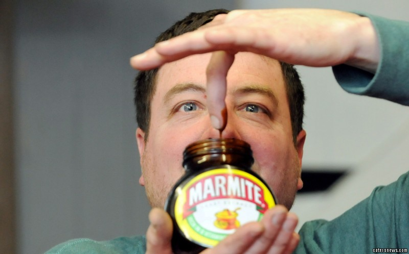 Picky John Pearson  is kept alive by his Marmite addiction