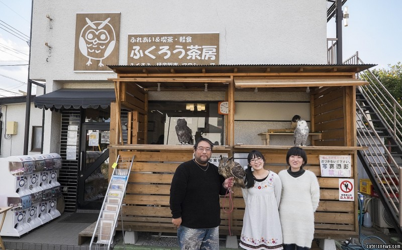 Animal cafes are not unusual in Japan and in Tokyo where it is often forbidden to have pets in apartments