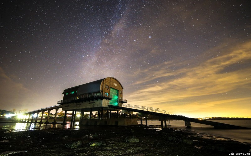 The Isle of Wight is known for its low levels of light pollution - an environment conducive to astro photography