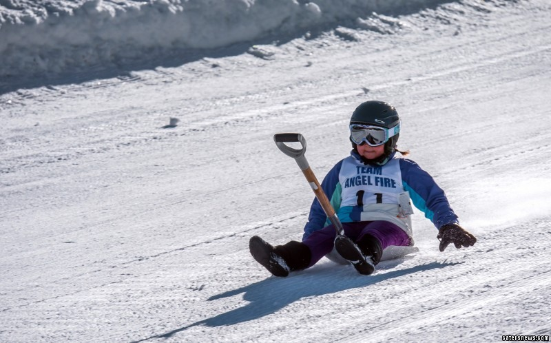 The 9th Annual Shovel Race Championships took place at Angel Fire Resort in New Mexico, USA