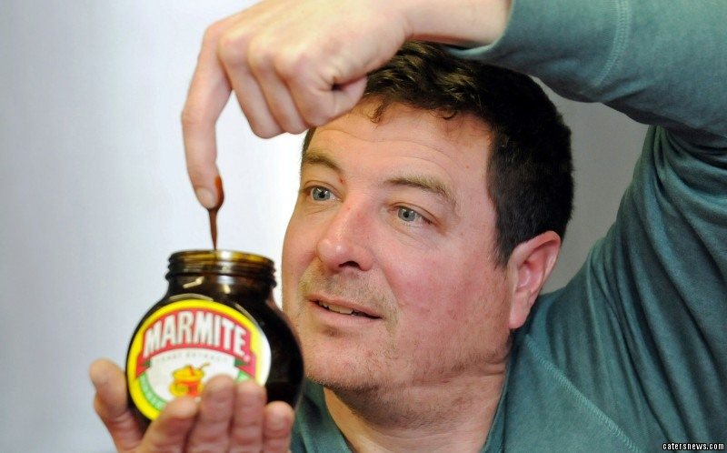 "John said: ""Marmite has been my life-saver."""