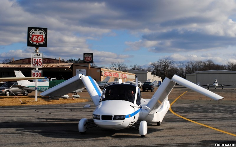 Massachusetts-based firm Terrafugia created a flying car