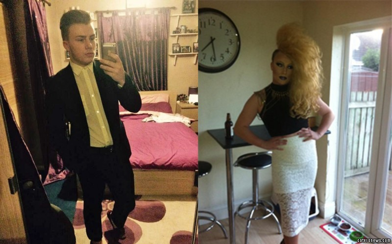 Bradley Denton may be a normal boy by day, but he's a drag queen by night