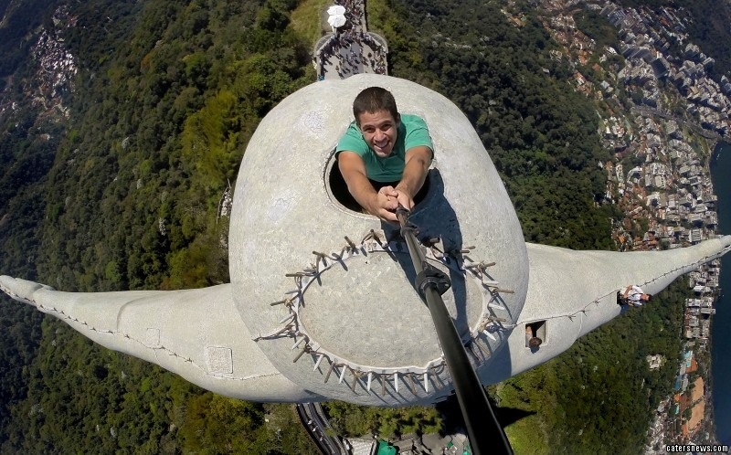 Christ the Redeemer Selfie