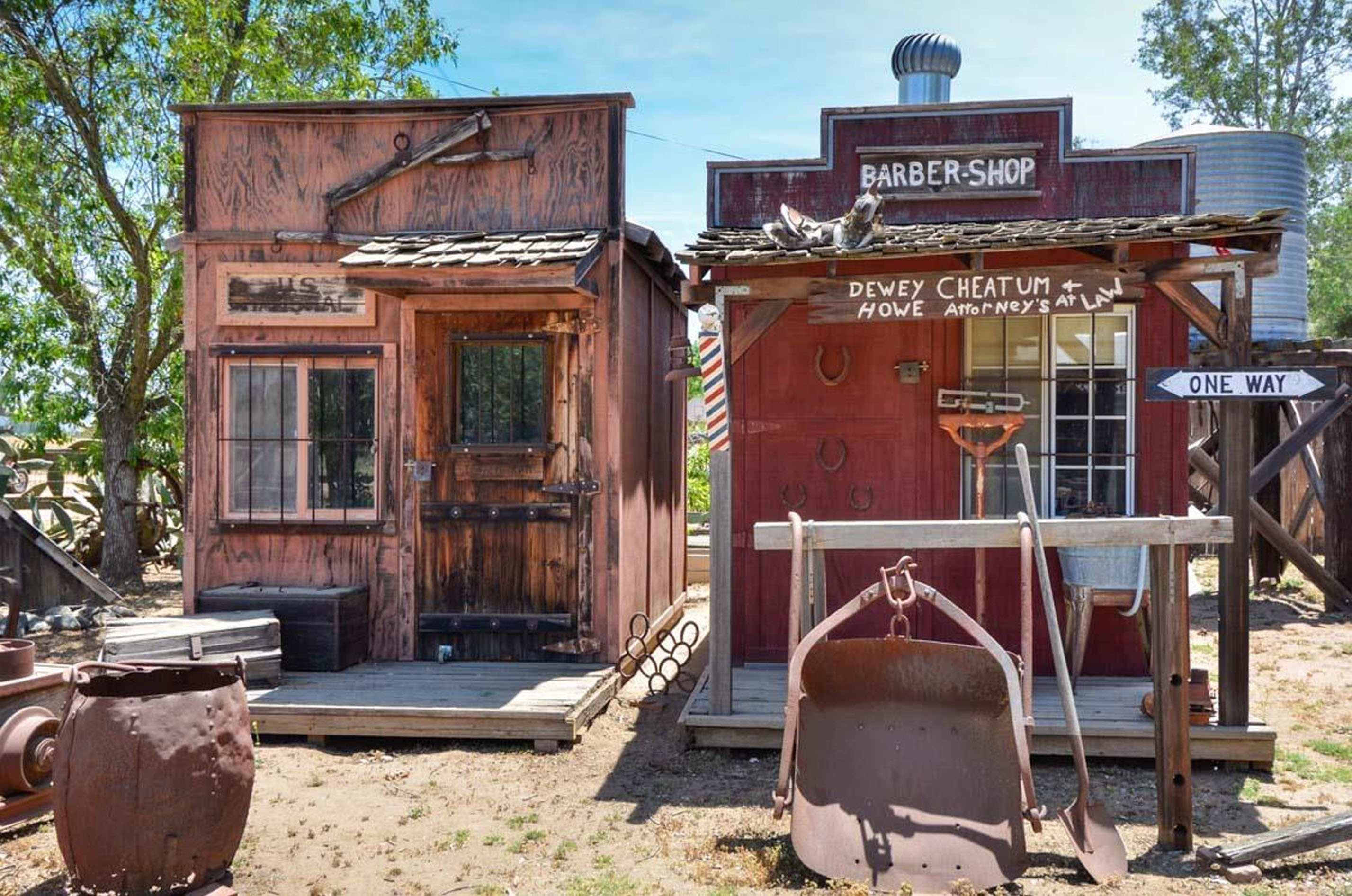 Whole Wild West Village With Saloon And Jail For Sale
