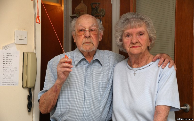 Roger, a World War Two vet, and his wife, must now pay £2.71 a week for the privilege of the cord