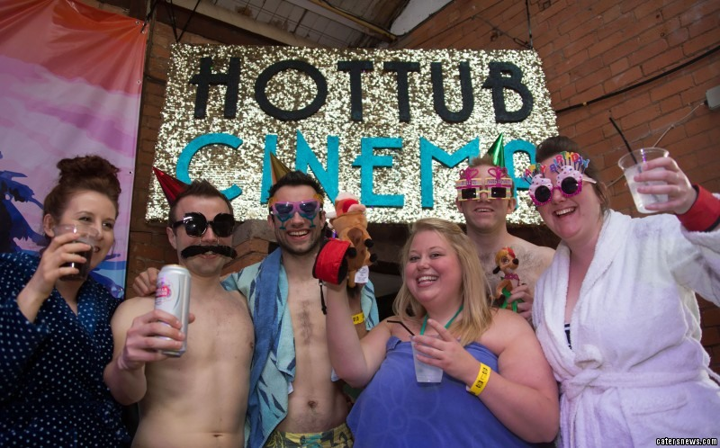 "Hot Tub Cinema's Founder, Asher Charman, said: ""Birmingham is without question one of the most creative and inspiring cities in the UK."""
