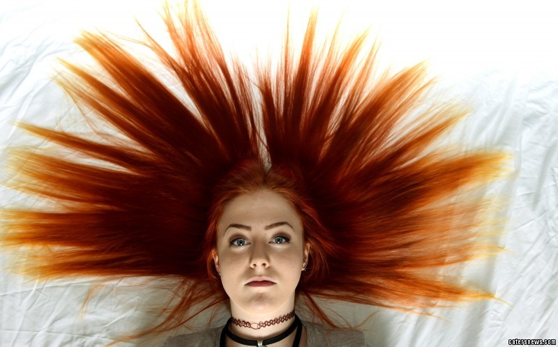 Emily Reay has been banned from school – for being ginger