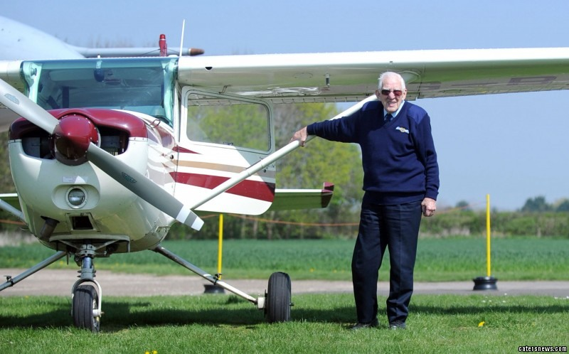 Paddy's interest in aircraft took off when he served as an apprentice at The Austin Motor Company in Longbridge