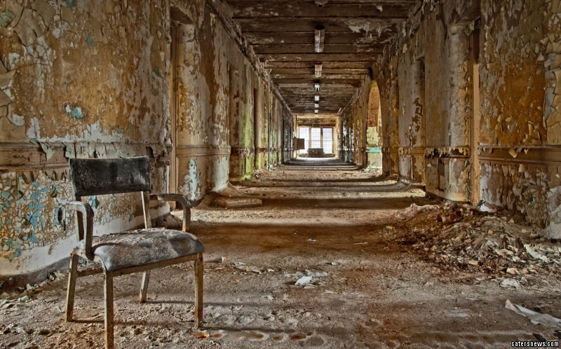 """hE said: """"While many people see state hospitals as a sort of 'house of horrors' they are an important part of our past - architecturally, socially, and economically."""""""
