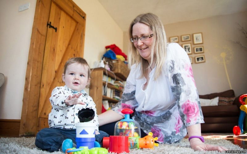 Hilary Wilson woke up four days after giving birth to her son with no memory of ever being pregnant