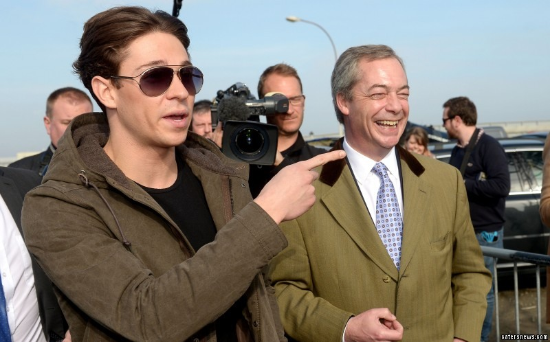 "Essex told reporters he thinks Nigel Farage is ""reem"""