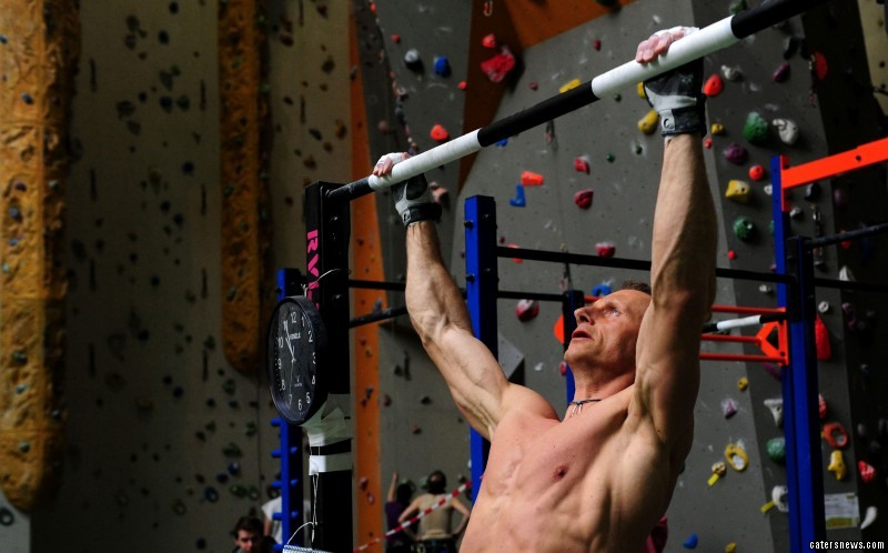 The Czech smashed the previous record by a whopping 1440 pull ups