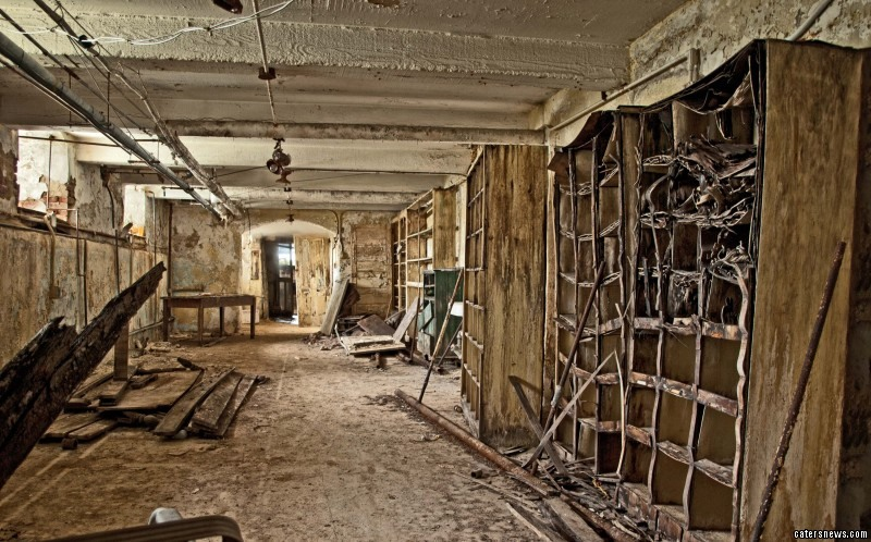 Matthew Christopher, who took the snaps, captures abandoned buildings across America