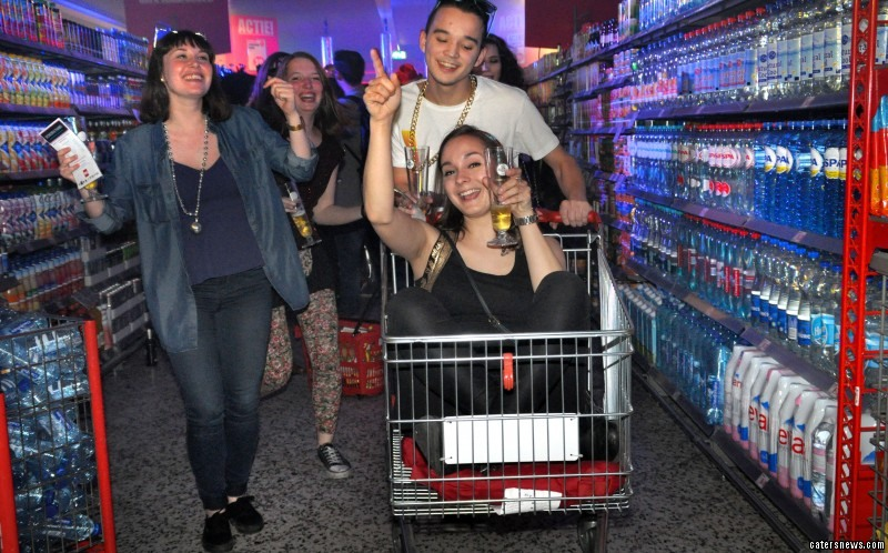 The Dutch supermarket is offering shoppers the chance to go wild in the aisles