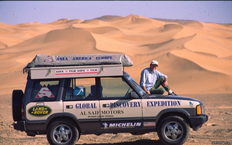 Peter and Eileen Crichton have travelled the world in their 3.5 V8i 1991 Land Rover Discovery