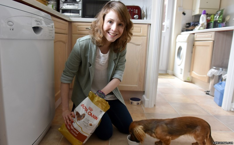 Eevee, a miniature Dachshund, helped her recover from anorexia