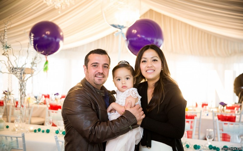 Eric Lembo and Trang Nguyen spent £25,000 on their daughter's birthday