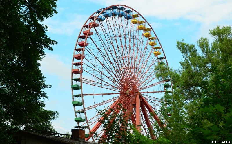 Spreepark was once East Germany's only amusement park