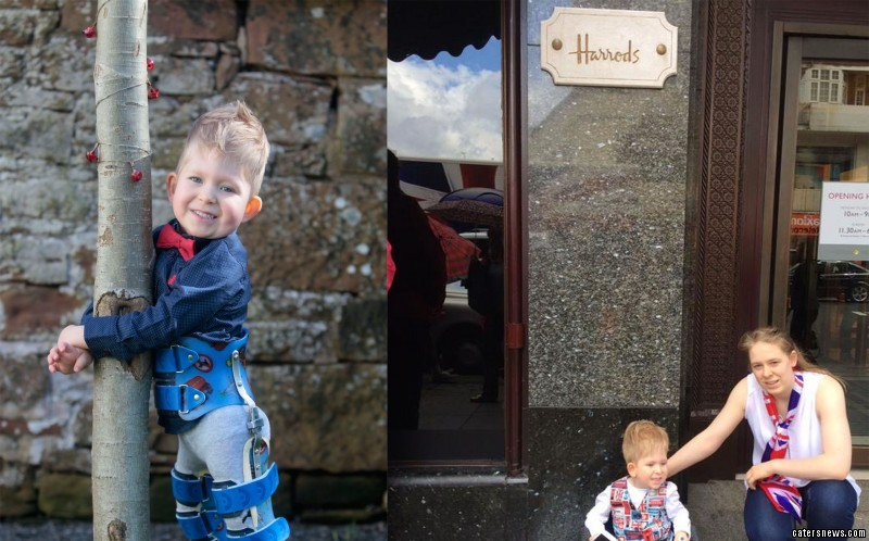 "Shelly said: ""It was absolutely horrendous. We were told to leave Noah's wheelchair in left luggage as if it was a toy."""