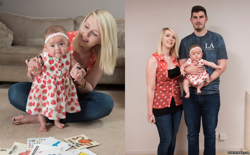 Doctors warned her worried mum, Vicki, 20, that no child as young as Ava had ever survived the surgery
