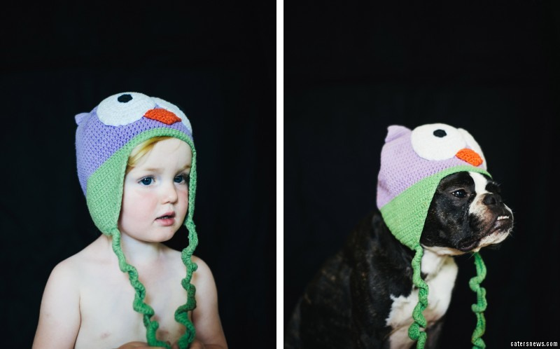 An adorable toddler and her pet dog have put a new spin on the who wore it better? argument