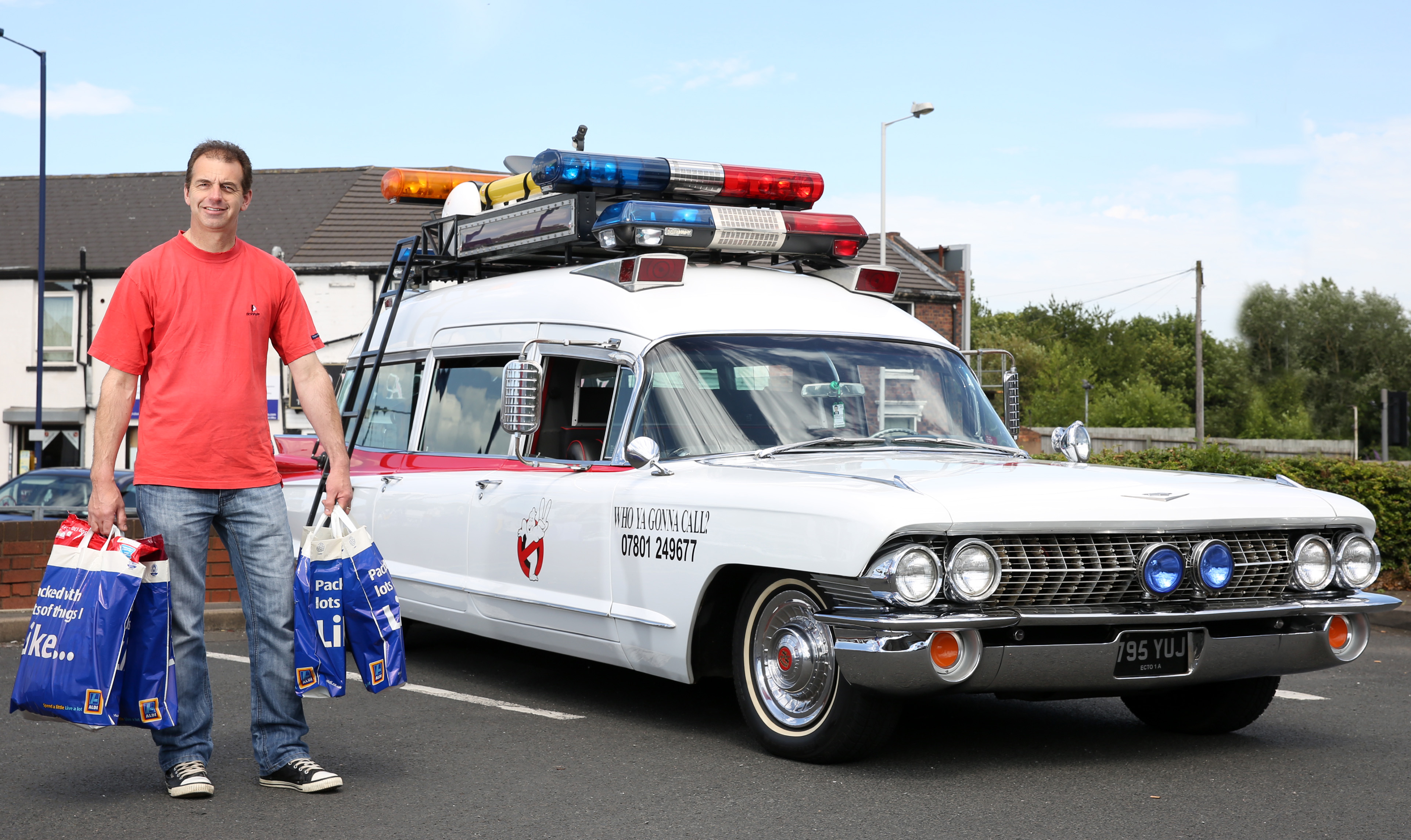 Ghostbusters 3 Car WHO YOU GONNA CALL? Mo...