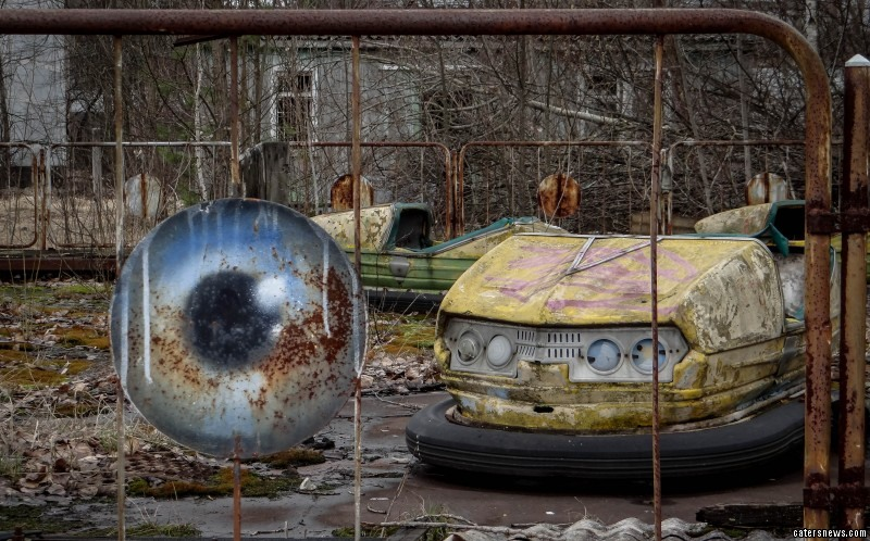 Normally a no-go zone, the area of Chernobyl rarely sees tourists and visitors through its gates and over the land.