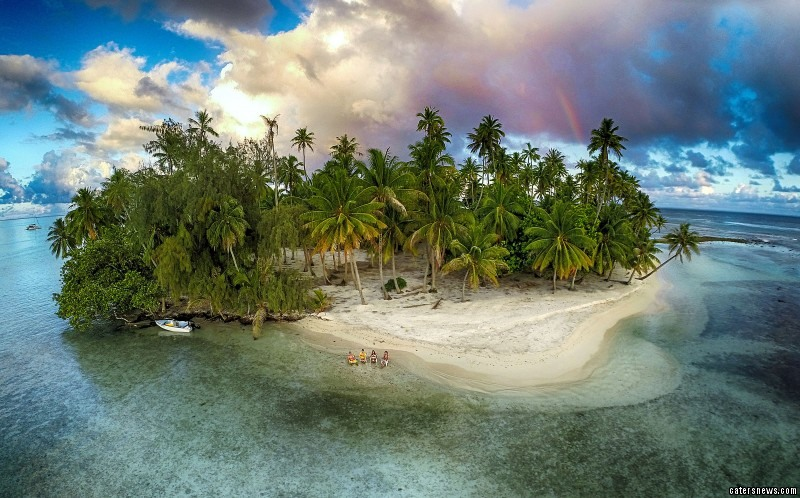 Third prize in the Nature category - Lost Island, Tahaa, French Polynesia