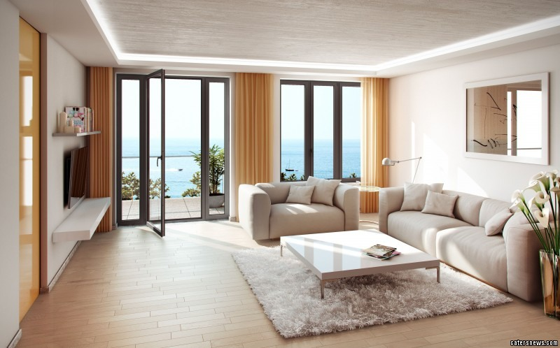 The room design for one of the apartments