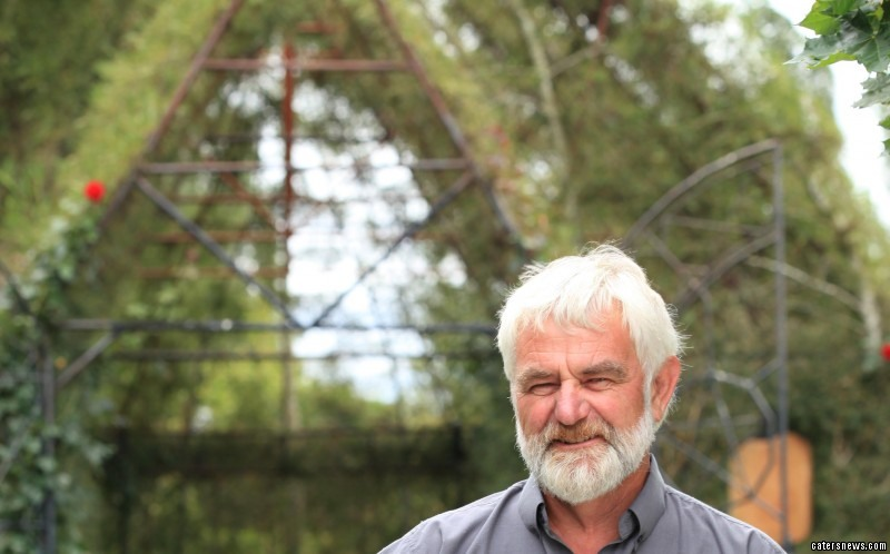 Barry Cox, 64, built a church from trees