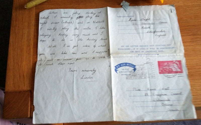 Some of the original letters