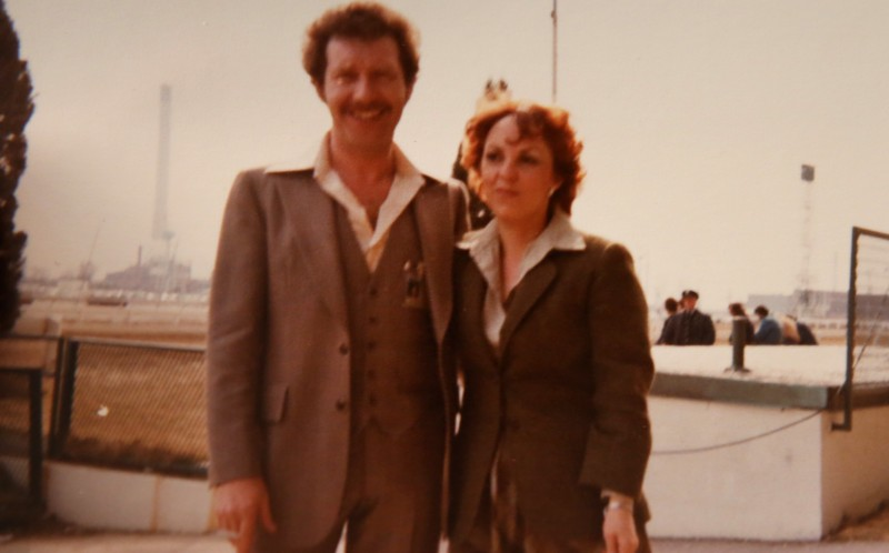 David and Maria in Canada in 1978