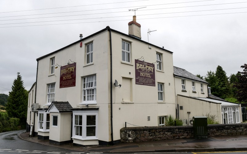 **ONLINE EMBARGO - 14TH SEPTEMBER 2015 00.01 **PIC BY MICHAEL SCOTT/ CATERS NEWS - (PICTURED: The Belfry Hotel in Cindeford, Gloucestershire where Beverly Bale had her wedding reception with Chantelle Jones court settlement money.)  - A mother whose boyfriend raped her daughter and got her pregnant when she was just 11 has stolen 13,000 of compensation owed to her after the ordeal and blew it all on a luxury wedding. Brave Chantelle Jones, 21, from Cinderford, Gloucestershire became Britains youngest mum after being raped by stepdad Russell Tovey aged just 11. But now her own mum, Beverley Bale, 45, has been convicted of nicking more than 13,000 of a 22,000 compensation settlement meant for Chantelle. The Criminal Injuries Compensation Board awarded Chantelle total compensation of 22,000 and 16,500 for her rape ordeal and another 5,500 for the pregnancy. SEE CATERS COPY.