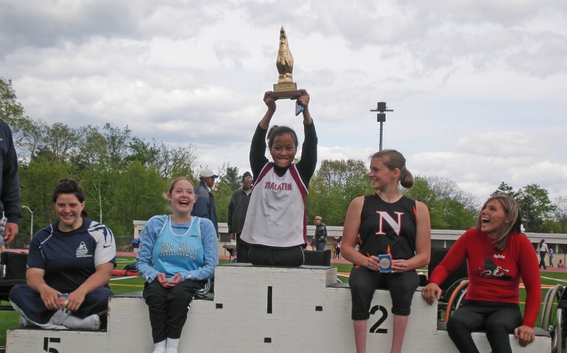 Kanya Sesser, 2008 Loucks girls 100 award