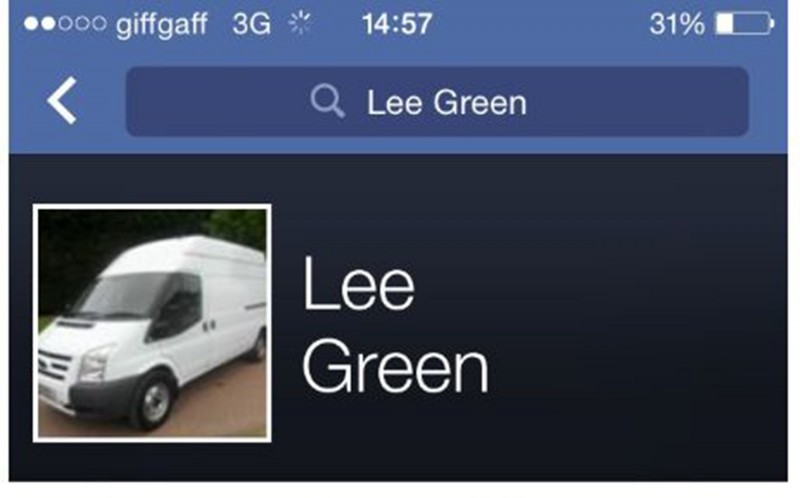 Lee Green removals facebook page