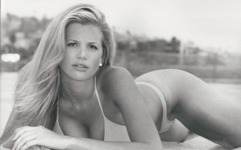 Danielle Braverman before she became a plus size model