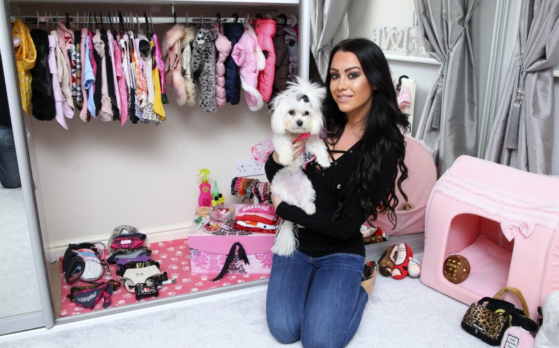Woman spends £13k pampering pooch - and they even have