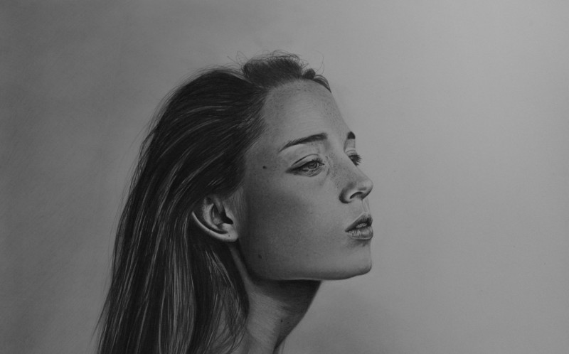One of the drawings drawn by Mariusz