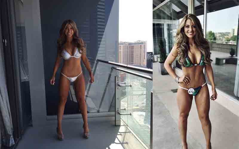 Obese young woman sheds half her body weight to become bikini