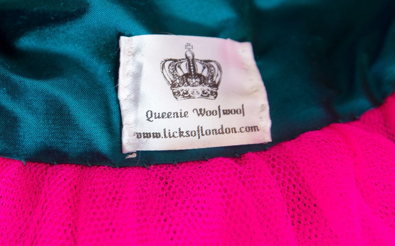 Queenie Licks of London label