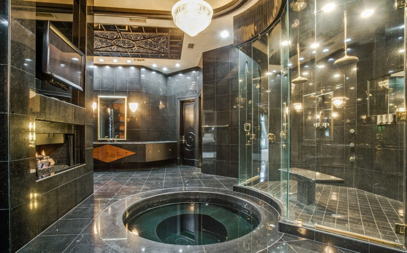 Man Caves For Sale : Ultimate man cave celeb mansion with entertainment suite