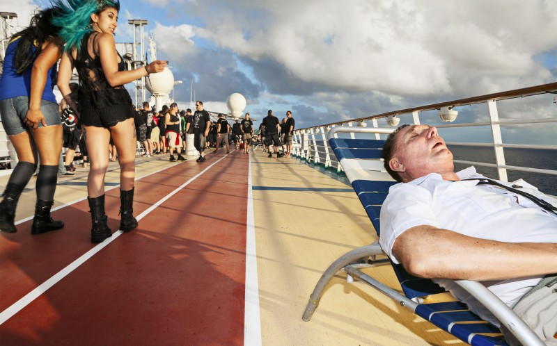 70,000 Tons of Metal, a cruise for heavy metal fans