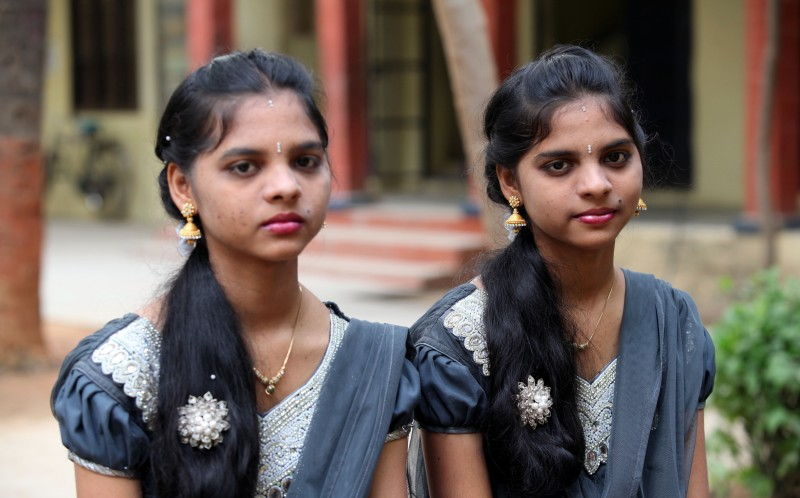 an indian school has 28 sets of twins on its rolls caters news agency