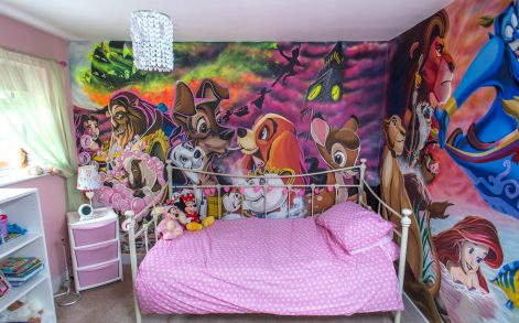 Art and tech archives caters news agency for Disneyland wall mural