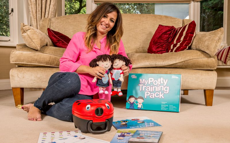 PIC BY PHILIP HARTLEY/ CATERS NEWS - (PICTURED: Amanda Jenner) - This woman deserves her title as the potty lady  as she is absolutely mad about toilet training. Mother of three Amanda Jenner, 42, has been on a potty training crusade for the past 18 years, teaching children up to the age of NINE how to use the toilet. As part of her fight to get kids toilet trained, she will live at a clients house for up to five nights and oversee the process herself. She charges 2,000 for the privilege, and so far eleven families have taken her up on the offer.  However, the idea is catching on, and over the next nine weeks Amanda has 20 bookings, meaning she will hardly be home at all. SEE CATERS COPY.