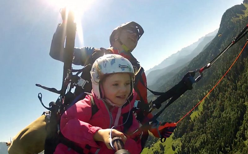 CHILD PARAGLIDER